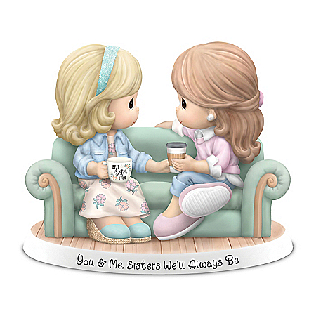 Precious Moments Sisters We'll Always Be Porcelain Figurine