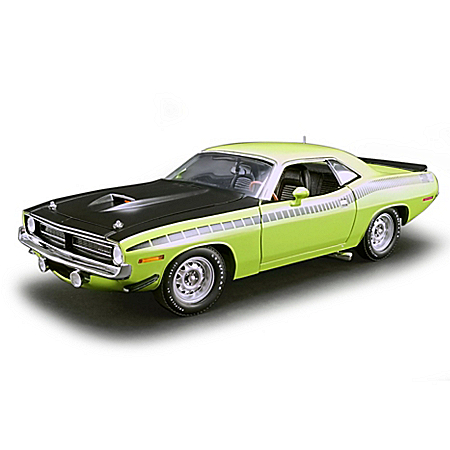1:18-Scale 1970 Plymouth AAR Cuda Diecast Car