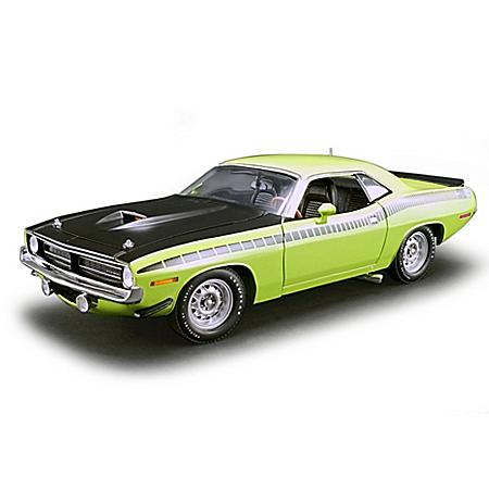 1:18-Scale 1970 Plymouth AAR Cuda Diecast Car