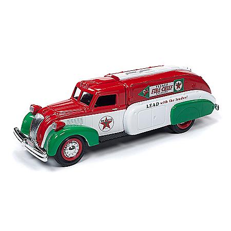 1:34-Scale Texaco 1939 Dodge Airflow Diecast Tanker Truck