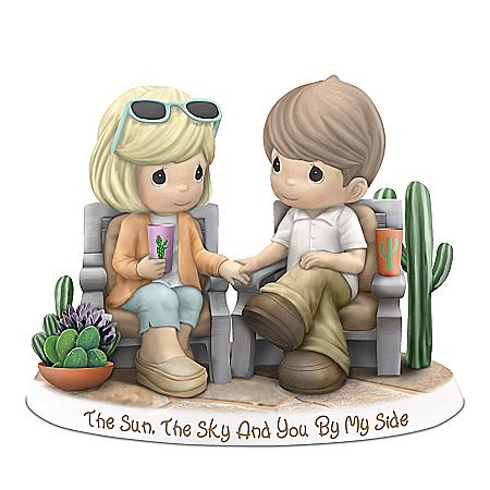 Precious Moments Desert Landscape Porcelain Couple Figurine