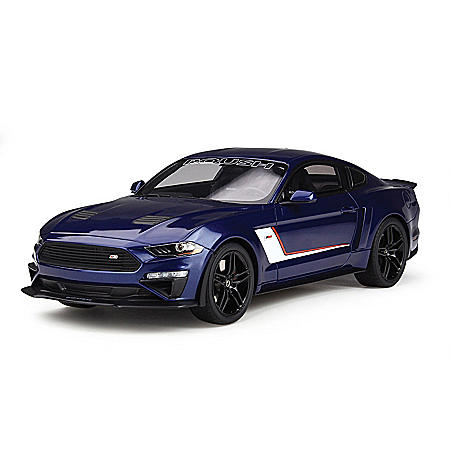 1:18-Scale 2019 ROUSH Stage 3 Ford Mustang Sculpture