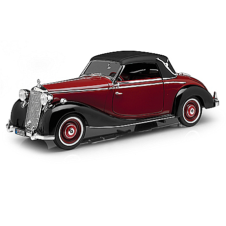 1:18-Scale 1950 Mercedes 170S Cabriolet Diecast Car