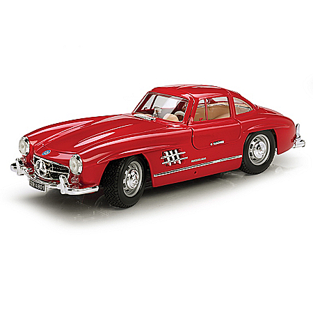 1:18-Scale 1954 Mercedes 300SL Gullwing Diecast Car