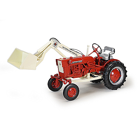 1:16-Scale 1977 Farmall Diecast Tractor With Front Loader