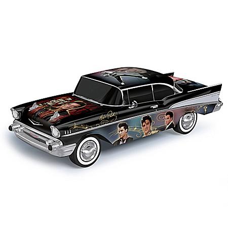 Elvis King Of The Road 1957 Chevy Bel Air Sculpture