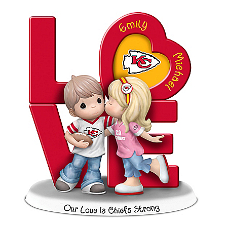 Precious Moments Chiefs Figurine Personalized With Names