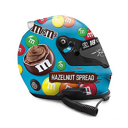 Autographed Kyle Busch #18 Full-Sized 2019 Replica Helmet