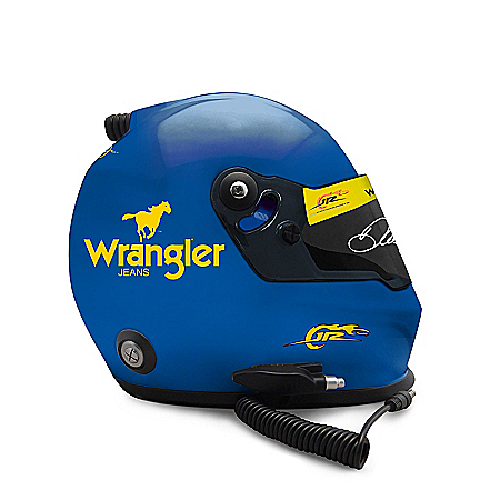 Dale Jr. Heritage Autographed 2010 #3 Wrangler Racing Helmet