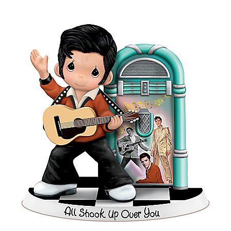 All Shook Up Over You Precious Moments Elvis Figurine