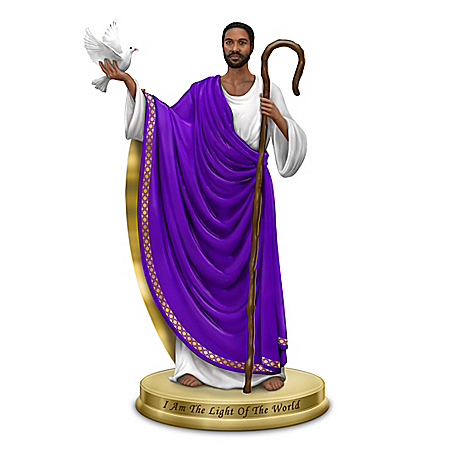 Keith Mallett Heavenly Jesus Figurine