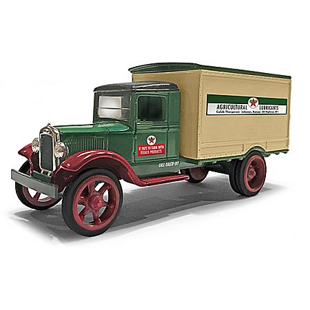 1:34-Scale Texaco 1931 Hawkeye Coin Bank Diecast Truck