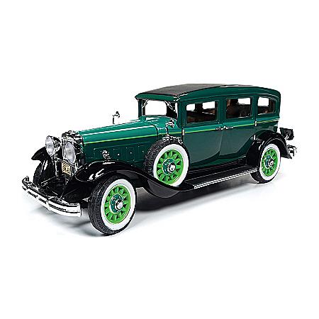1:18-Scale 1931 Peerless Master 8 Sedan Diecast Car