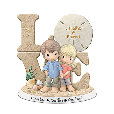 Precious Moments I Love You To The Beach And Back Figurine