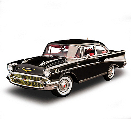 1:18-Scale Chevrolet Bel Air Diecast Car In Rare Onyx Black