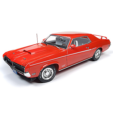 1:18-Scale 1969 Mercury Cougar Hard Top Diecast Car