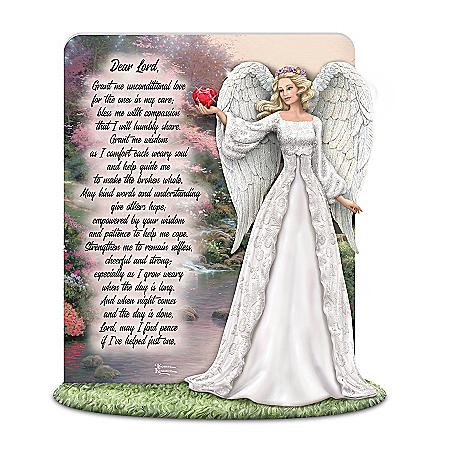 Angel Honors Caregivers With Thomas Kinkade Art And Prayer