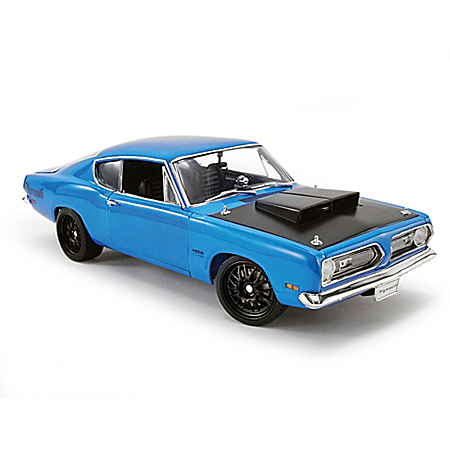 1:18-Scale '69 Plymouth Barracuda Street Fighter Diecast Car