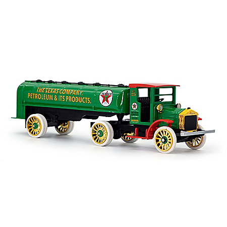 1920 Texaco Pierce-Arrow Diecast Tanker Truck And Coin Bank