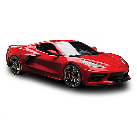 1:18-Scale 2020 Chevrolet Corvette C8 Sculpture