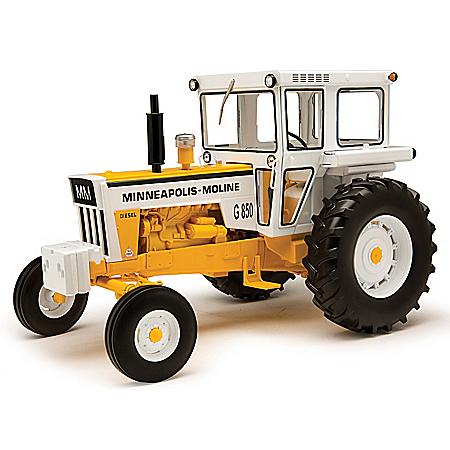 1:16-Scale Minneapolis-Moline G850 Diecast Tractor