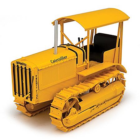 1:16-Scale Caterpillar Twenty-Five Diecast Bulldozer