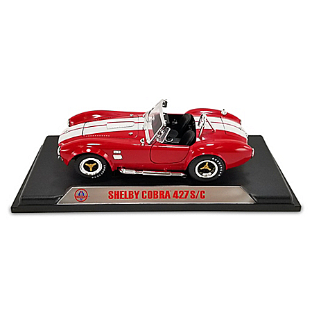 1:18-Scale 1965 Shelby Cobra 427 Roadster S/C Diecast Car