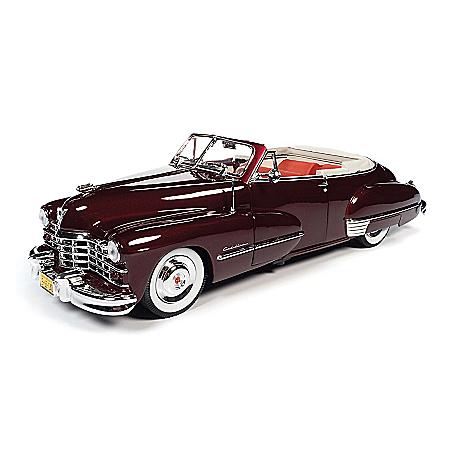 1:18-Scale 1947 Cadillac Series 62 Convertible Diecast Car