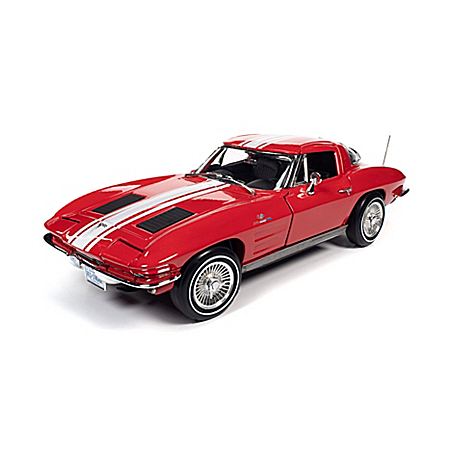 1:18-Scale 1963 Chevrolet Corvette Z06 Coupe Diecast Car