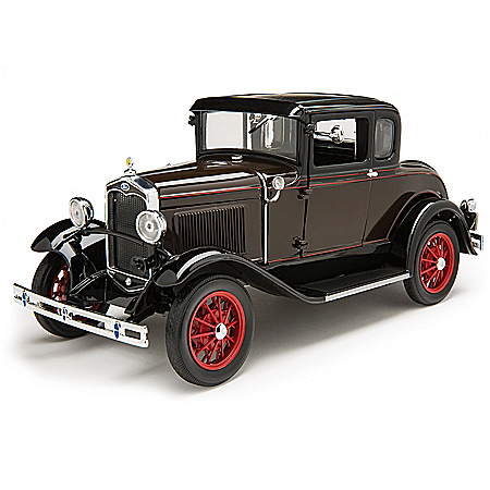 1:18-Scale 1931 Ford Model A Deluxe Coupe Diecast Car