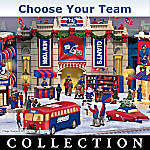 Christmas Village Collectibles Collectible NFL Football Christmas Village Collection: NFL Memorabilia