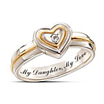 My Daughter, My Love Diamond Ring