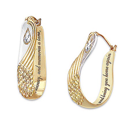Always With You Crystal Teardrop Earrings