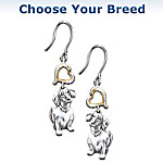 Loyal Companion Dog Lover Keepsake Earrings