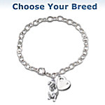 Loyal Companion Keepsake Dog Charm Bracelet