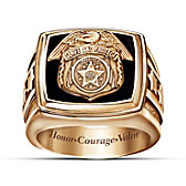 Police Officer Ring