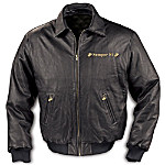 USMC Leather Jacket: United States Marine Corps Gift