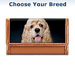 Papillon Faithful Friend Leather Wallet