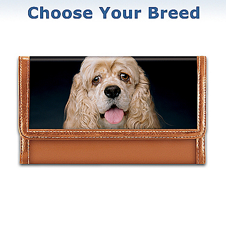 Faithful Friend Dog Lover Leather Wallet: Perfect Dog Lover Gift