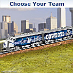 Collectible NFL Football Express Train Collection: NFL Memorabilia