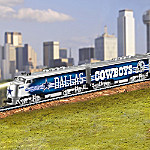 Bradford Exchange Collectible NFL Football Express Train Collection: NFL Memorabilia