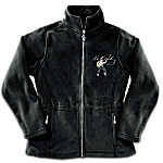 Elvis Dressed To Thrill Women's Fleece Jacket