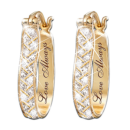 For Love Always Diamond Earrings