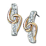 Lover's Knot Diamond Earrings: Romantic Jewelry Gift