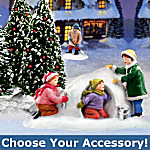 Home Decor Collectibles Hawthorne Village Winter Accessories: Holiday Home Decor