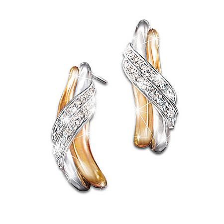 Diamond Embrace Earrings