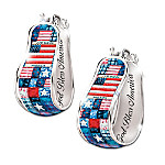 Pride Of America Earrings