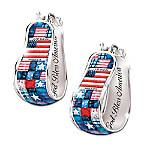 Pride Of America Earrings