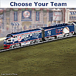 Choose Your Team! Major League Baseball Train Collections