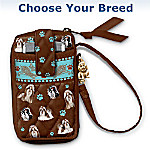 Loving Companion Dog-Themed Cell Phone And Card Holder Wristlet